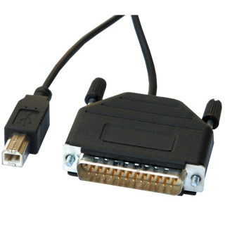 Cablu Paralel DB25 la USB 1.8m, Roline 12.02.1074