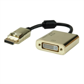 Adaptor DisplayPort la DVI GOLD 4K2K T-M, Roline 12.03.3175
