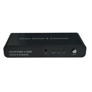 Switch HDMI / VGA / DP la HDMI, Roline 14.01.3568