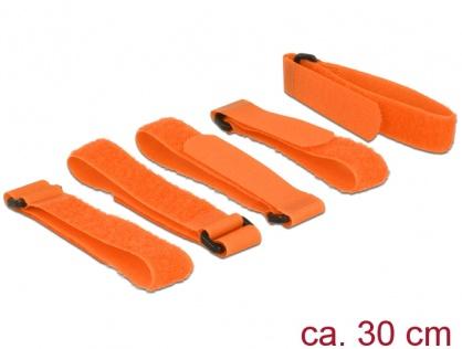 Set 5 bucati cureluse cu arici portocalii 300 mm x 20 mm, Delock 18707
