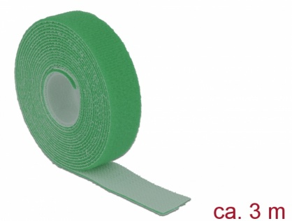 Rola cu arici verde 3m x 20mm, Delock 18730