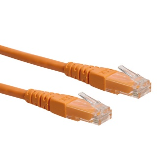 Cablu retea UTP Roline Cat.6 orange 15m, 21.15.1597