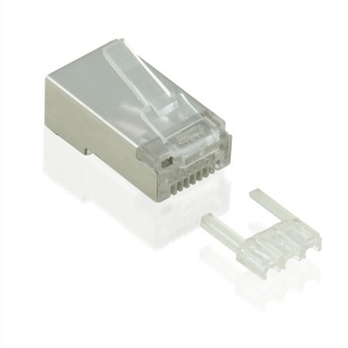 Mufe RJ45 cat 6 ecranate set 10 buc, Value 21.99.3063