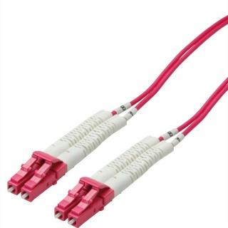 Cablu fibra optica LC-LC OM4 cablu flexibil (unghi) 0.5m, Value 21.99.8790