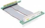 Riser card PCI angled 90 left insertion with 13 cm cable, Delock 41779