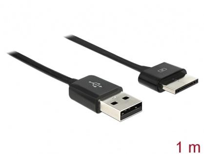 Cablu USB 2.0 date si alimentare tableta ASUS Eee Pad 36 pini 1m Negru, Delock 83555