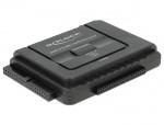 Adaptor portabil USB 3.0 la SATA III/IDE 40 pini/44 pini Functie Back-up, Delock 61486