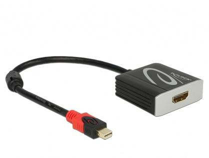 Adaptor mini Displayport 1.2 la HDMI T-M 4K 60 Hz Activ, Delock 62735