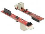 Convertor Slim SATA 13 pini la USB 2.0-B, Delock 62651