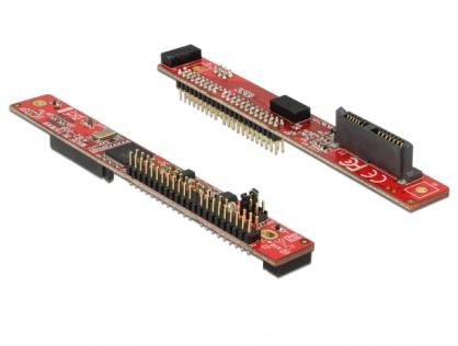 Adaptor Slim SATA 13 pini la IDE 44 pini T-T, Delock 62687