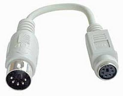 Adaptor PS/2 la AT M-T 0.15m, Lindy L70139