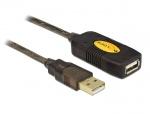 Cablu prelungitor activ USB 2.0 M-T 30m, Delock 83453
