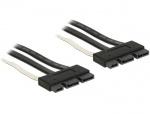 Cablu SATA Express 18 pini la SATA Express 18 pini T-T 50 cm, Delock 84766