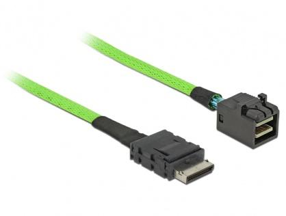 Cablu OCuLink PCIe SFF-8611 la SFF-8643 0.5m, Delock 85210