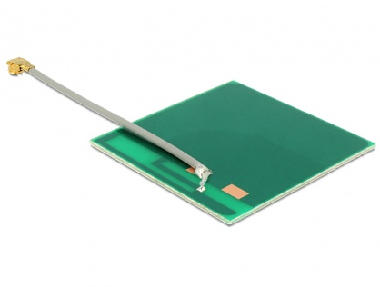 Antena WLAN MHF/U.FL-LP-068 802.11 b/g/n 2 dBi 50 mm PCB Intern Self Adhesive, Delock 86253