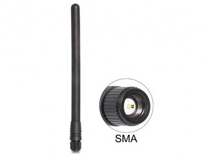 Antena ZigBee 868 MHz SMA 2 dBi omnidirectional fixed, Delock 88689