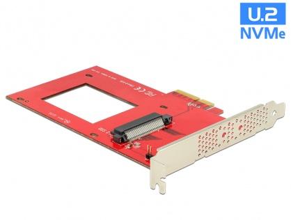 PCI Express x4 la 1 x port U.2 NVMe SFF-8639, Delock 89469