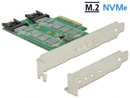 PCI Express la 3 x slot M.2 Low Profile Form Factor, Delock 89518