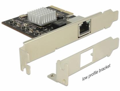 PCI Express la 1 x 10 Gigabit LAN NBASE-T RJ45, Delock 89654