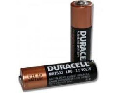 Set 2 baterii Duracell AA LR6 Blister