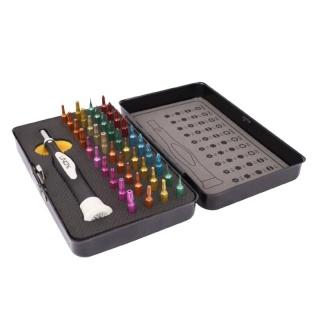 Trusa precizie 40 piese colorate Screwdriver & Torx Set, Lindy L43035