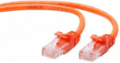 Cablu retea UTP Cat 5e 2m orange, Gembird