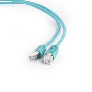 Cablu de retea FTP cat 6 2m verde, Gembird PP6-2M/G