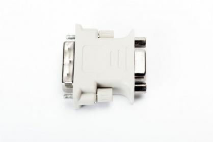 Adaptor DVI-I Dual Link 24+5 pini la VGA T-M, Spacer SPA-DVI-VGA