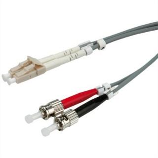 Cablu fibra optica LC-ST duplex multimode 2m, Value 21.99.9952