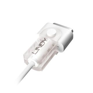 Protectie pentru cablu de incarcare magnetic MagSafe 2 Alb, Lindy L31400
