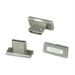 Set 3 buc conector magnetic micro USB-B pentru 11.02.8312, Roline 11.02.8313