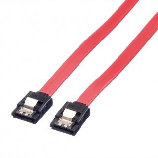 Cablu date SATA III 6 Gb/s drept/drept 1m Rosu, Value 11.99.1551