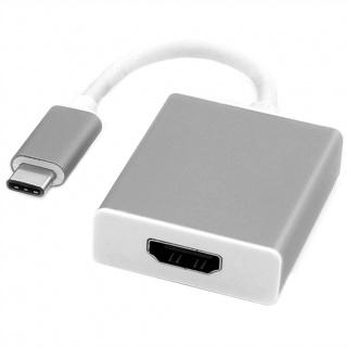 Adaptor USB 3.1 tip C la HDMI T-M Aluminiu, Roline 12.03.3210