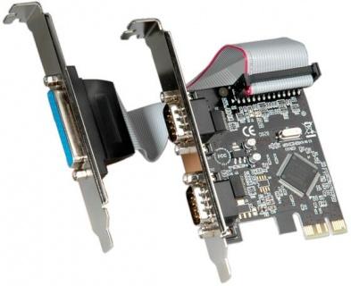PCI Express la 2 x Serial RS232 + 1 x Paralel DB25, Value 15.99.2116