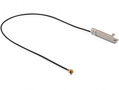 Antena WLAN MHF/ U.FL-LP-068 Compatible Plug 802.11 b/g/n -5 dBi 200 mm Internal 701 PIFA, Delock 86151