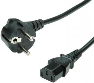 Cablu de alimentare PC MYCON IEC320 C13 1.8m negru, CON2309