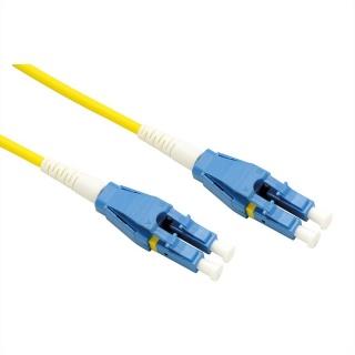 Cablu Jumper Fibra optica LC-LC duplex OS2 15m, Roline 21.15.8786