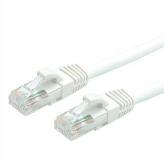 Cablu de retea RJ45 UTP cat 6 5m LSOH Alb, Value 21.99.1066