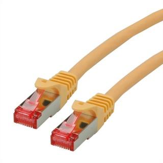 Cablu de retea SFTP cat 6 Component Level LSOH galben 0.3m, Roline 21.15.2953
