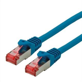 Cablu de retea SFTP cat 6 Component Level LSOH bleu 0.3m, Roline 21.15.2955