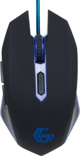 Mouse gaming Blue, Gembird MUSG-001-B