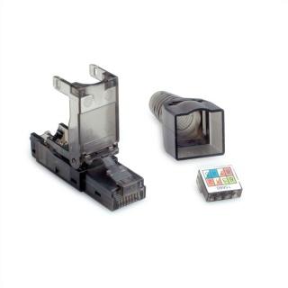 Conector de retea RJ45 cat 6A UTP pentru fir solid AWG 23-26, Value 26.99.0372