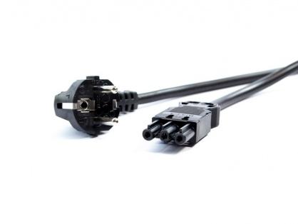 Cablu de alimentare Schuko la GST18-3 2m negru, Bachmann 375.075