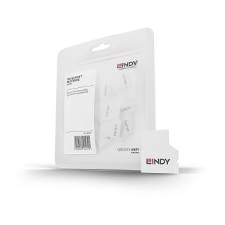 Set 10 bucati Port Blocker slot SD (fara cheie), Lindy L40479