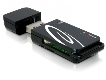 Cititor de carduri USB 2.0 20 in 1, Delock 91667