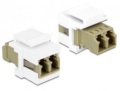 Modul Keystone LC Duplex M-M multimode, Delock 86347