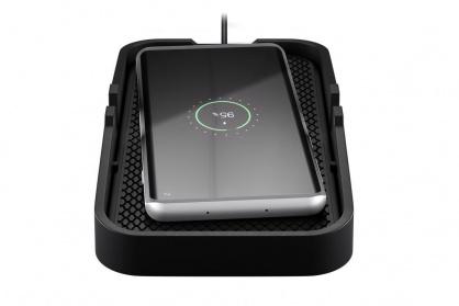 Incarcator wireless Fast Charging 10W pentru auto/birou, Goobay 55479