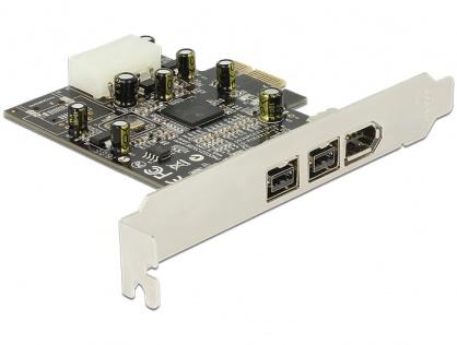 PCI Express Firewire 2 porturi B + 1 port A, Delock 89153
