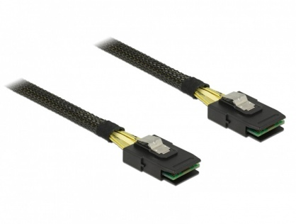 Cablu Mini SAS SFF-8087 la Mini SAS SFF-8087 1m, Delock 83073