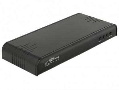 Convertor CVBS / YPbPr / VGA la HDMI cu Scalare, Delock 63963